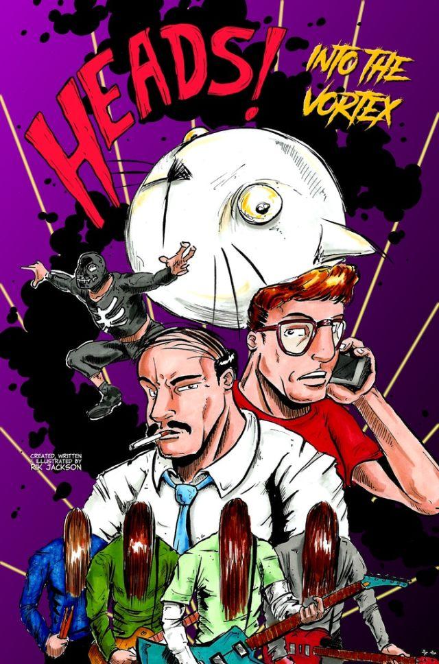 Now on Kickstarter: Heads! Into the Vortex