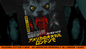 6f46c87b2be Beware the AMERICAN WEREWOLF IN LONDON Collection from Fright-Rags ...