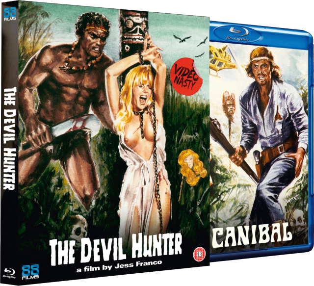 Jess Franco's DEVIL HUNTER UK Blu-ray Debut 8 April from 88 Films