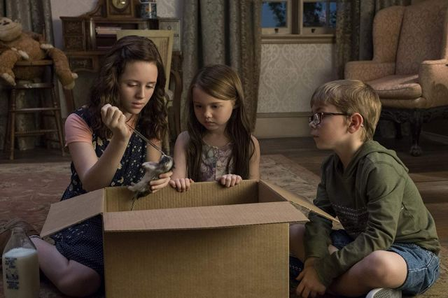 The Haunting of Hill House Triple Threat