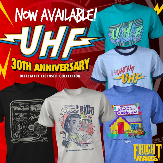 Who Ya Gonna Call? GHOSTBUSTERS, THE DEVIL'S REJECTS & UHF Merchandise from Fright-Rags