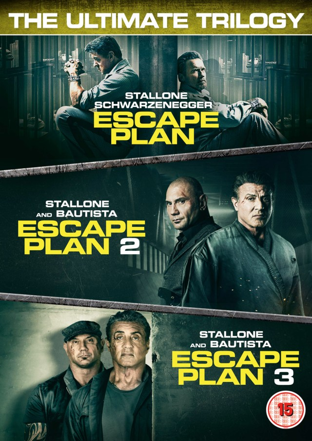 Win Escape Plan: The Ultimate Trilogy on DVD from Signature Entertainment