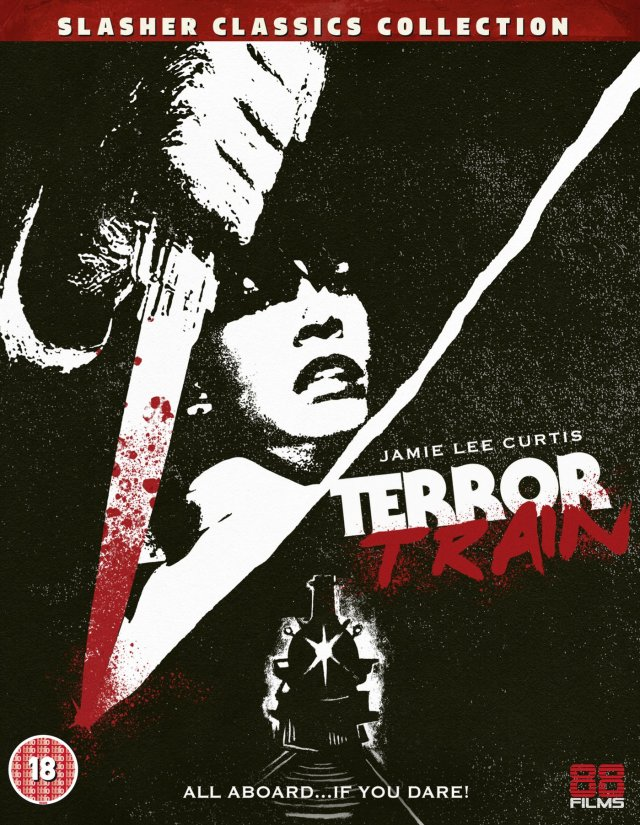 TERROR TRAIN (Slasher Classics Collection) on Blu-ray 4th November from 88 Films