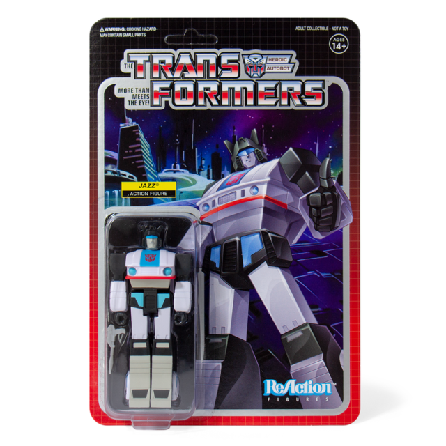 Super7 TRANSFORMERS ReAction Figures