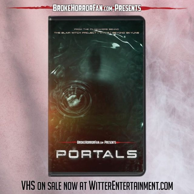PORTALS Now Available on VHS 📼 Courtesy of Broke Horror Fan & Witter Entertainment
