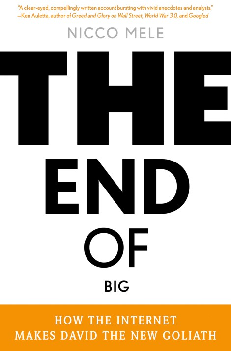 The End of Big: How the Internet Makes David the New Goliath Book Cover