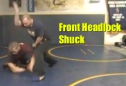 front headlock shuck