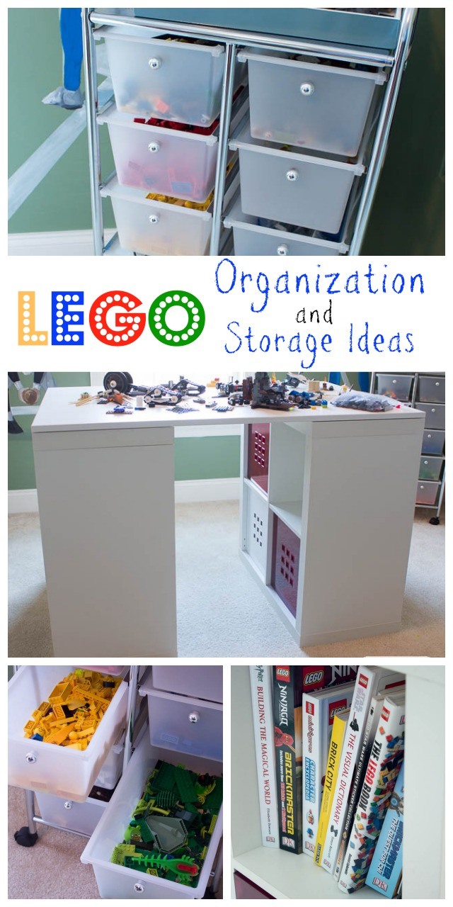 Lego Table with Storage: Tips for Organizing and Storing Legos
