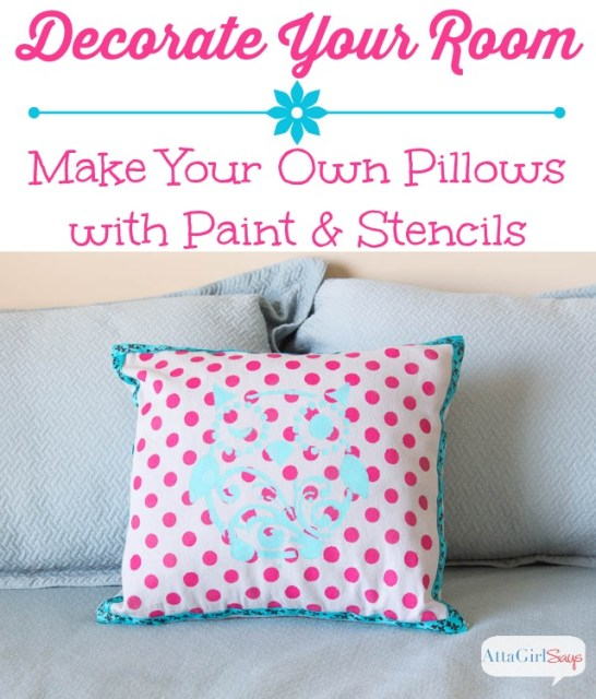 Make Your Own Decorative Pillows Decoration For Home Enchanting Decorate Your Own Pillow