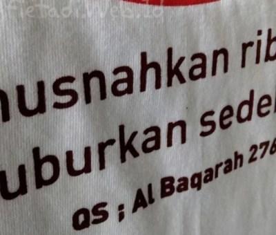 Riba Mengorbankan Shadaqah