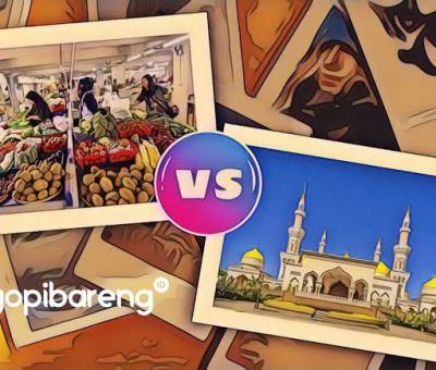 Masjid versus Pasar