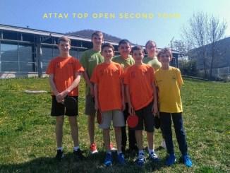Top open second tour de la saison 2018/2019
