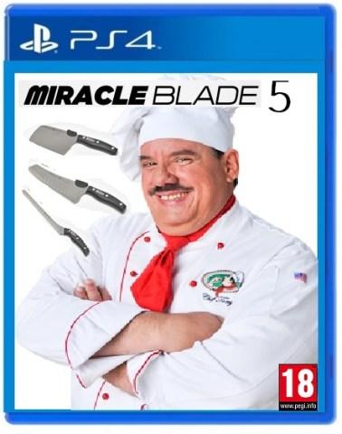 Miracle Blade 5 box art