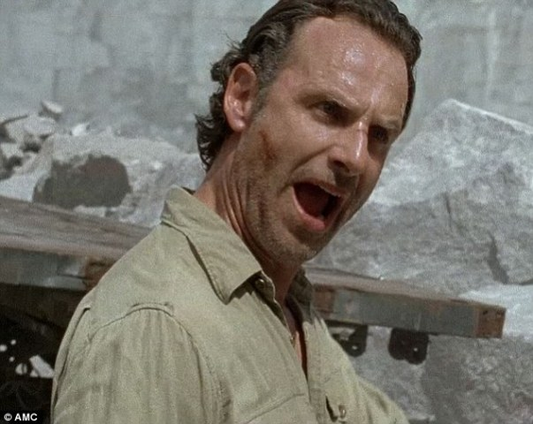 walking dead rick attenti a quei gamer