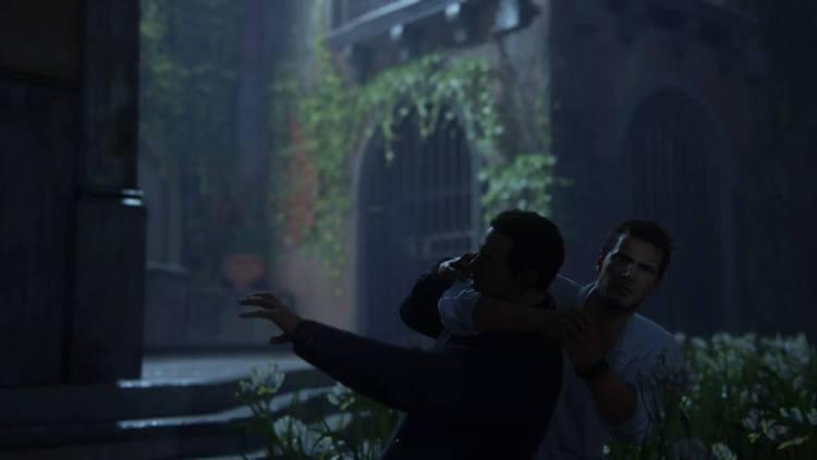 La posa è uguale a un artwork di Uncharted 2