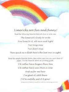 There's nothin' serious about a limerick. The Irish favor the fun, funny verses of limericks old and new!