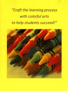 Integrating the arts into education does NOT require professional art experience.