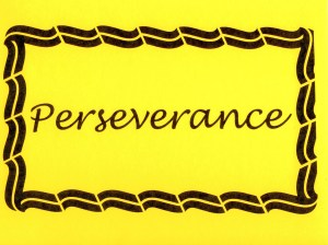 One P, please, for Perseverance. Let's hear it for the sounds of success!