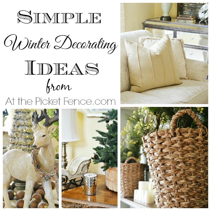 Simple Winter Decorating Ideas