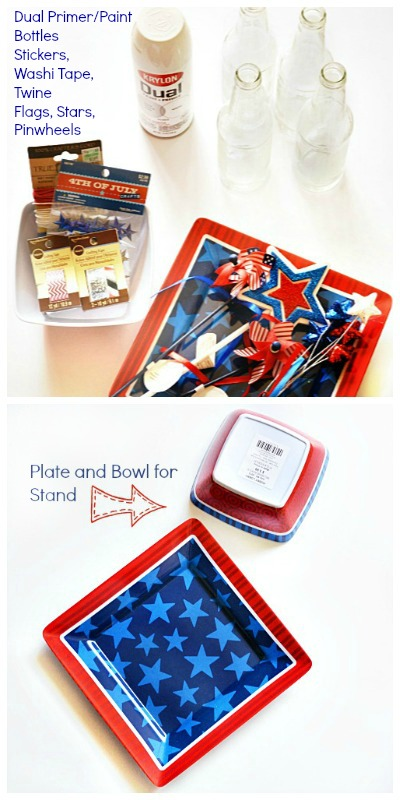 Patriotic Crafts Recycled