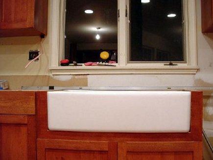 farm sink installation tutorial atticmag