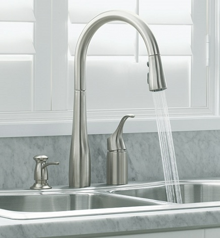 why kitchen faucets splash
