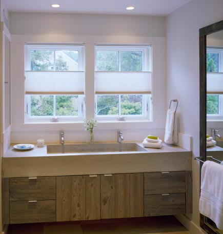 double vanity bathrooms