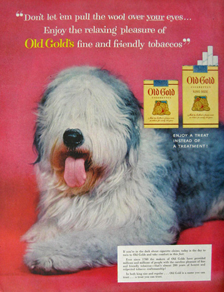 Vintage Cigarette Ads (5/6)