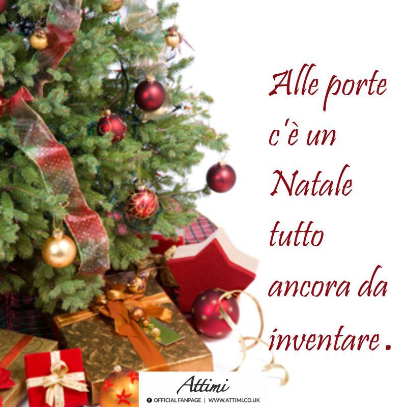 Alle porte c'è un Natale tutto ancora da inventare.