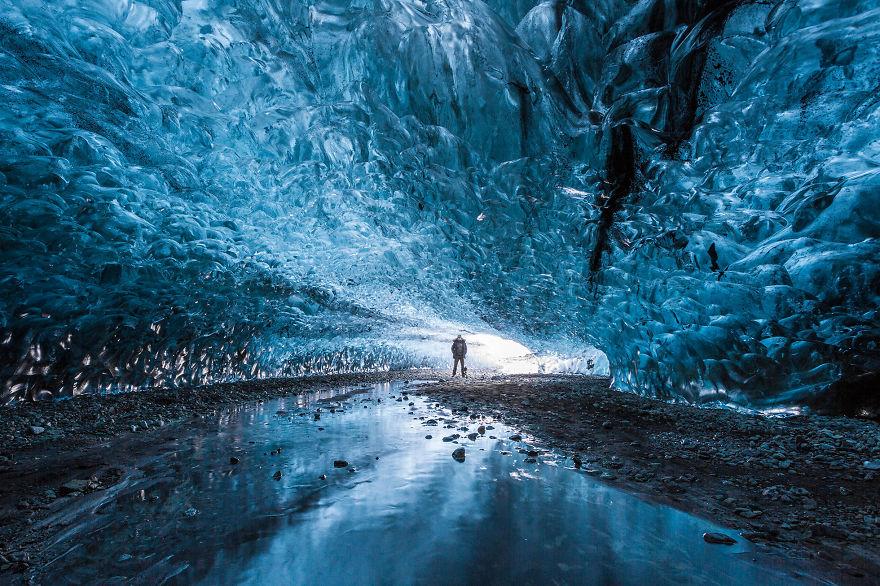 Grotta di ghiaccio, Islanda