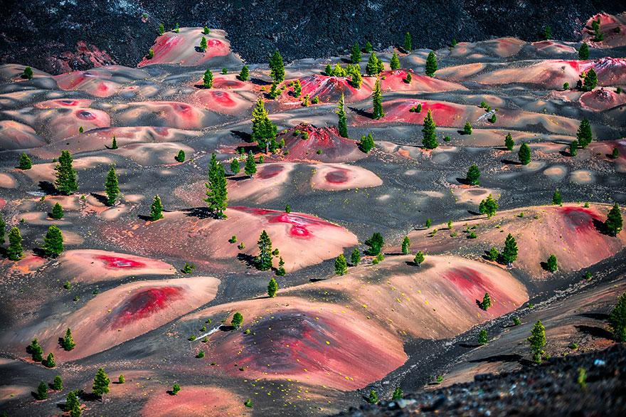 Le Dune Dipinte, Lassen Volcanic National Park, USA