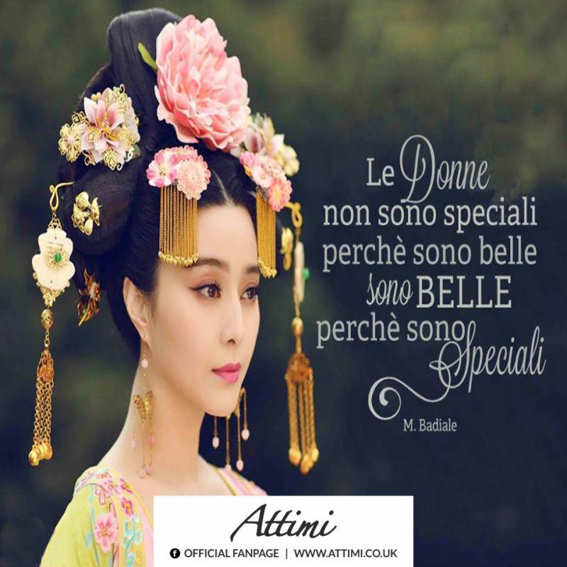 Le donne non sono speciali perchè sono belle sono belle perchè sono speciali. (M.Badiale)
