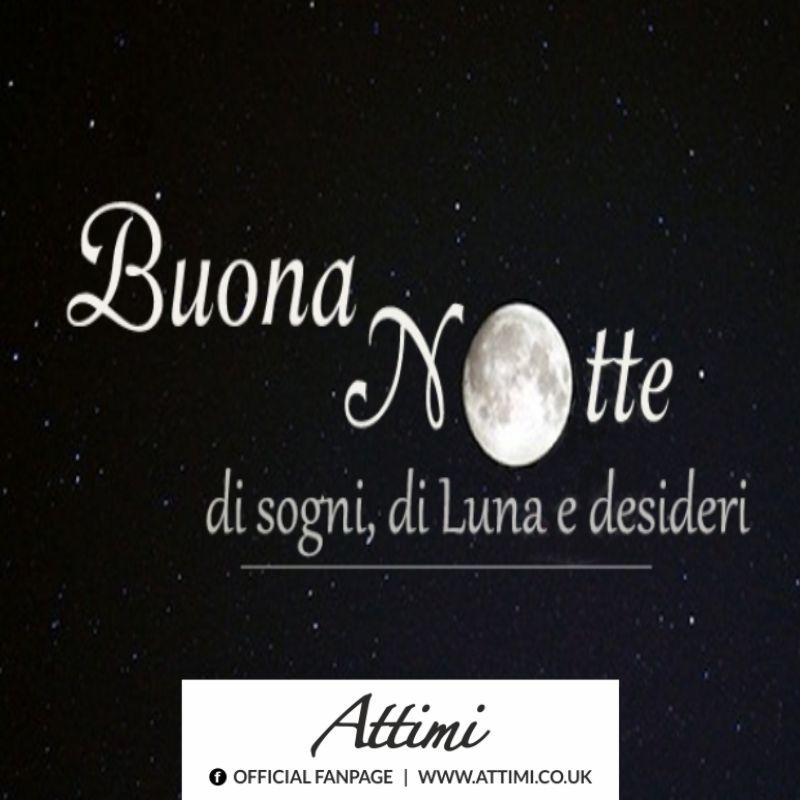Buona Notte di sogni, di Luna e desideri.
