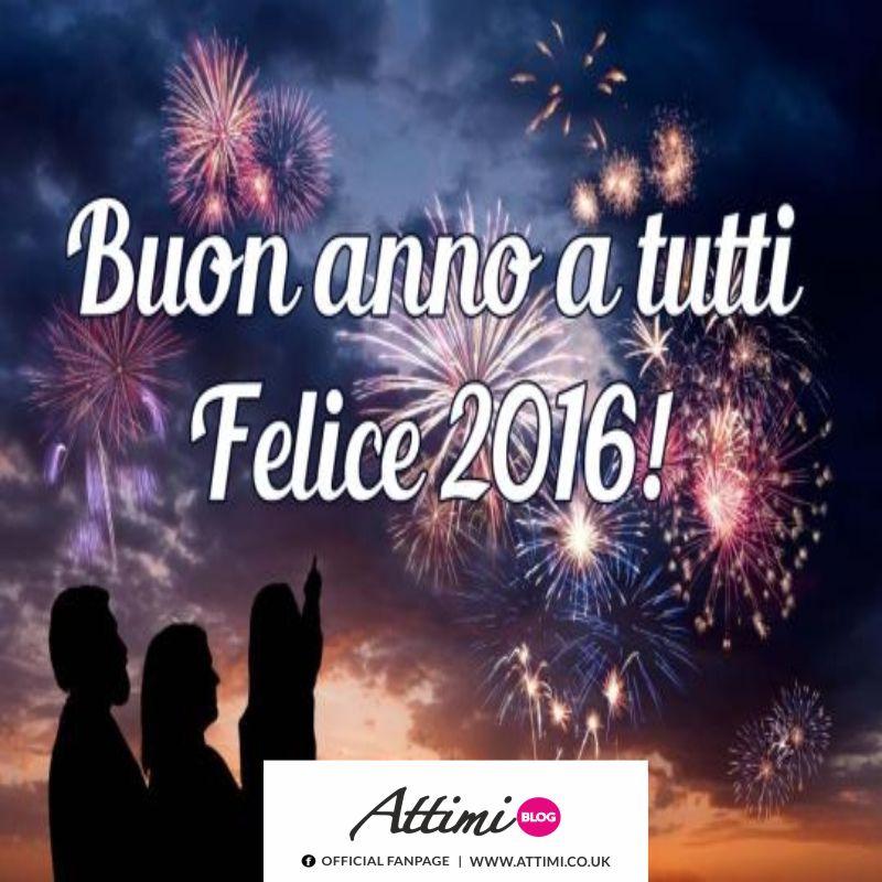 Buon anno a tutti! Felice 2016