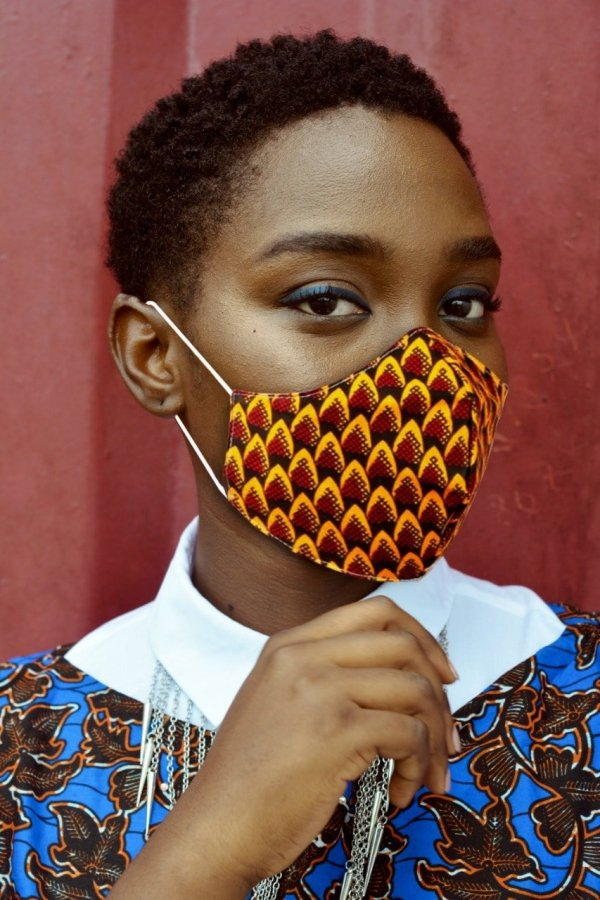 African Print Face Masks | Ankara Facemasks | NATH