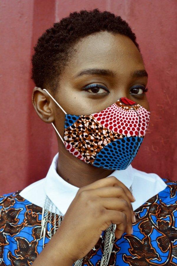 African Print Face Masks | Ankara Facemasks | SEMAR