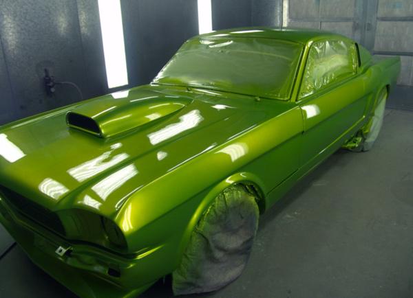 1965 Jobs Custom Paint Mustang