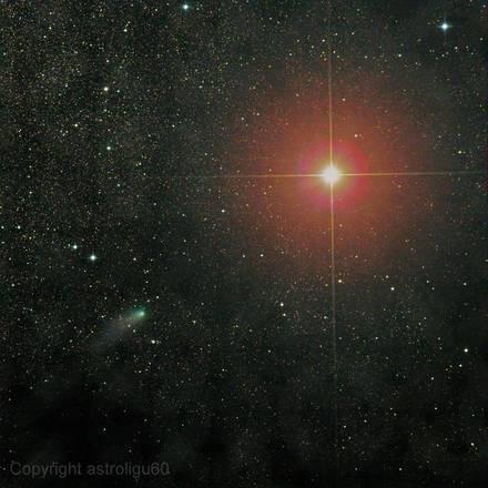 Cometa Marte Ligustri: la cometa Siding Spring a circa 1,7 m