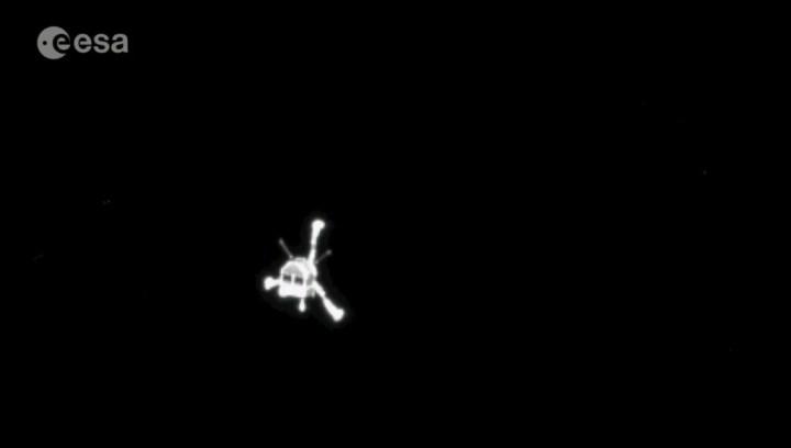 Philae-Rosetta-antnne