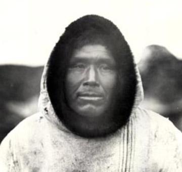 Uomo Inuit del Labrador
