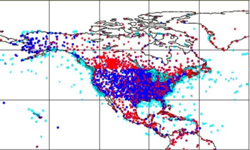 USA-stations