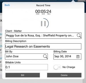 Figure 3 - Rocket Matter iPad App