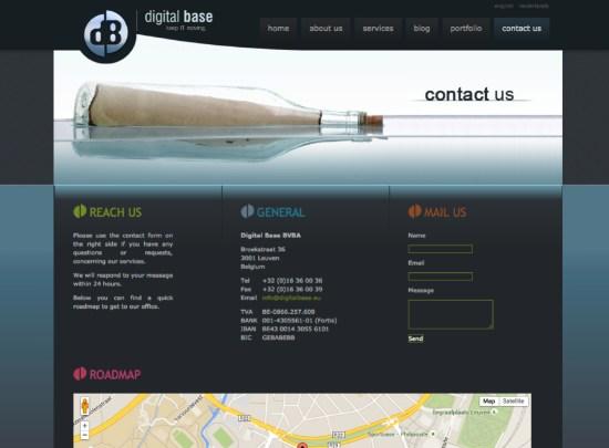 Contage Page - DigitalBase