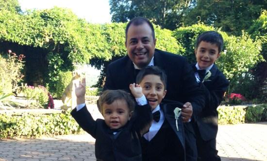 Victor-Medina-With-Kids