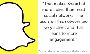 Snapchat - SM for Lawyers