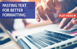 pasting text formatting microsoft word video