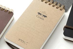 midori grain Pocket Notebooks
