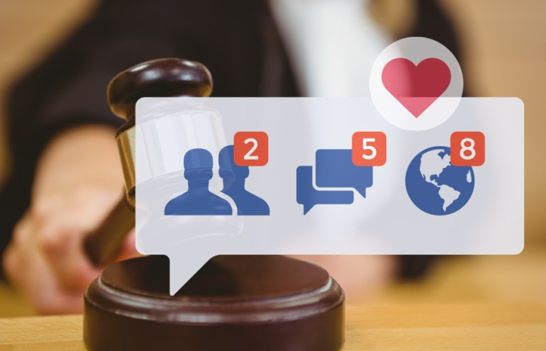 judges and social media