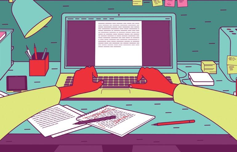 self-publishing keyboard