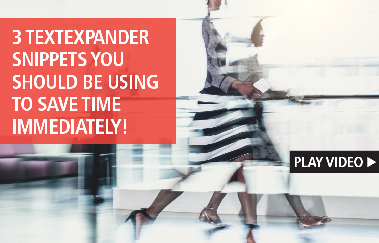 3 TextExpander Snippets You Should Be Using to Save Time